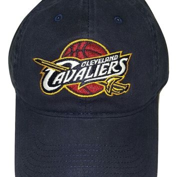 NBA Cleveland Cavaliers Cap Slouch Adjustable Snapback, Choose Hat Color