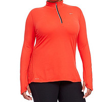 Nike Plus Element Running Top - Action Red