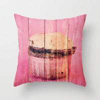 Wednesday's soufflé Throw Pillow by Yasmina Baggili | Society6