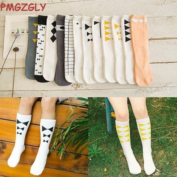 0-6 Year Unisex Baby Socks Fox Knee High Boys Girls Baby Leg Warmers Animal Soft Cute Kids Infant Socks 2017 Hot Sale Long Socks