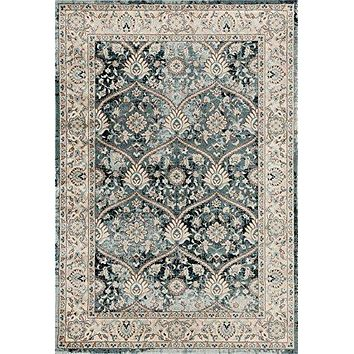 1083 Blue Oriental Persian Area Rugs