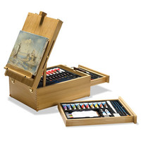 The 104-Piece Multi Media Art Set - Hammacher Schlemmer
