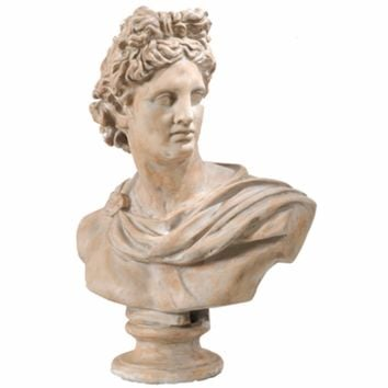 Antiquely Composed Placidia Bust Statue