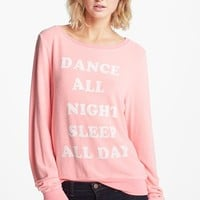 Wildfox 'Dance All Night' Sweatshirt | Nordstrom