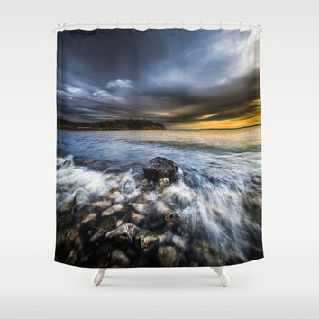 Justice Shower Curtain by HappyMelvin