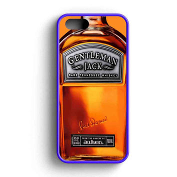Gentlemen Jack Daniels Rare Tennessee Whiskey iPhone 5 Case iPhone 5s Case iPhone 5c Case