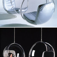 Eero Aarnio: Modern Design Bubble Bing Bong Hanging Chair | NOVA68 Modern Design