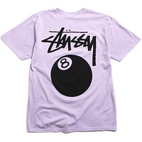 SP20 8 Ball Pigment Dyed T-Shirt Lavender