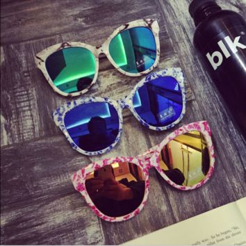 Marble Grain Sunglasses