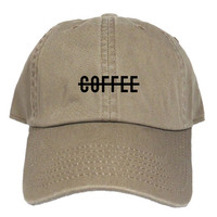 COFFEE DAD HAT - KHAKI