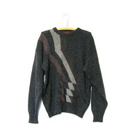 STOREWIDE SALE. Vintage gray graphic sweater