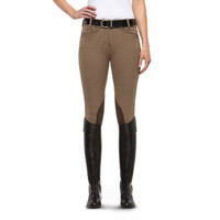 Ariat Women's Heritage Euroseat Kneepatch Breech with Front Zip 10009792