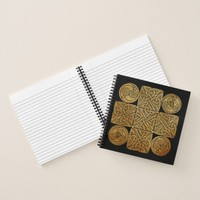 Celtic Knotwork Cross Notebook