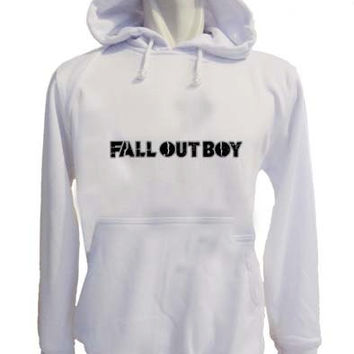fall out boy Hoodies Hoodie Sweatshirt Sweater white variant color for Unisex size
