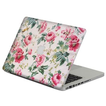 "Rose Garden  Laptop Decal Sticker Skin For MacBook Air Pro Retina 11"" 13"" 15"" Vinyl Mac Case Body Full Cover Skin"