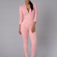 Lifeline Jumpsuit - Blush