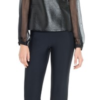 Bonded Jersey Flared Leg Trouser | Max Studio by Leon Max Official