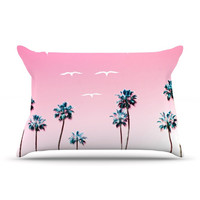 "Bree Madden ""Pink Cali"" Pillow Case - Outlet Item"