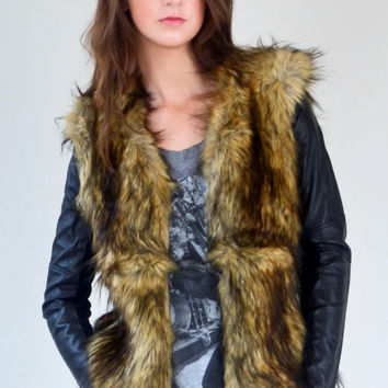 Bardot Stevie Fur Jacket
