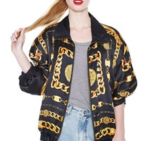 Off the Chain Silk Jacket