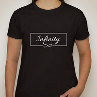 """One Direction """"Infinity"""" Box T-Shirt"""