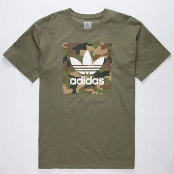 ADIDAS Camo Blackbird Mens T-Shirt