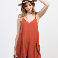 Flowy Pocket Romper