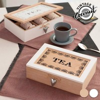 Vintage Box for Teabags