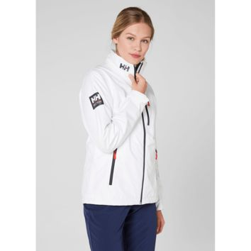 Helly Hansen Women's Crew Hooded Jacket White