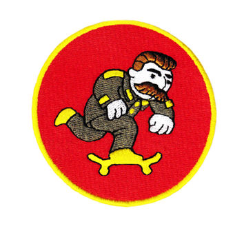 Stalin Army Military Skater Skateboarding Embroidered Patch 8cm