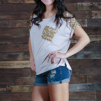 Embellish Me Pocket Tee