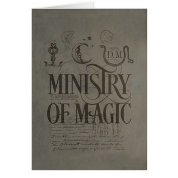 Harry Potter Spell | MINISTRY OF MAGIC Card