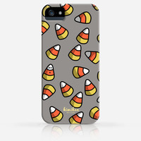 Halloween Candy Corn Sweet Pattern iPhone 4 Case, iPhone 4s Case, iPhone 5 Case, iPhone 5s Case, iPhone Hard Plastic Case