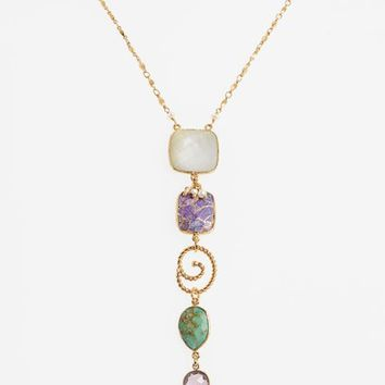 Gas Bijoux Poeme Statement Y-Necklace | Nordstrom