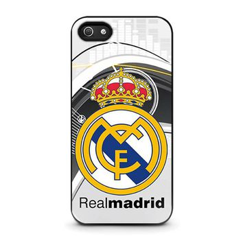 REAL MADRID FC iPhone 5 / 5S / SE Case Cover