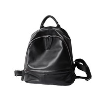 Women 100% Genuine Leather Standard Mini Backpacks