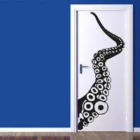 Wall Decal Vinyl Sticker Decals Art Decor Octopus Sprut Poulpe Delfish Tentacles Deep Sea Jellyfish Bedroom Dorm Nursery (r377)