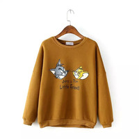 Tom&Jerry Print Sweater