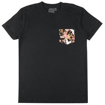 Naked & Famous Denim - Pocket Tee Black T-shirt