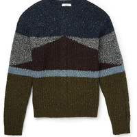 Valentino - Wool and Cashmere-Blend Sweater