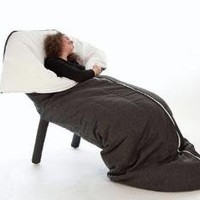 Cocoon Chair: Duvet + Lounger Combo