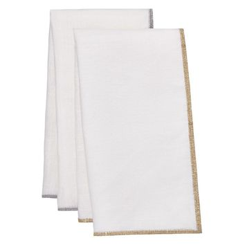 Bel Air Metallic Napkins - Set of 4