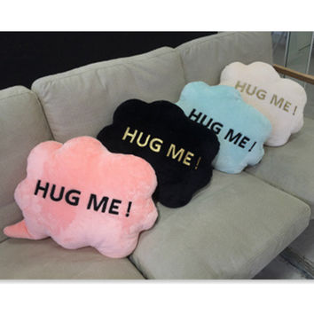 Hug Me Cloud Pillow Baby Toys Stuffed Throw Pillow Cushion for Kids Baby Bedroom Decration