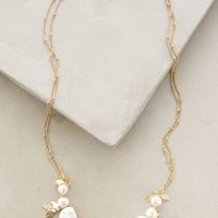 Polistes Necklace by Anthropologie in Ivory Size: One Size Necklaces