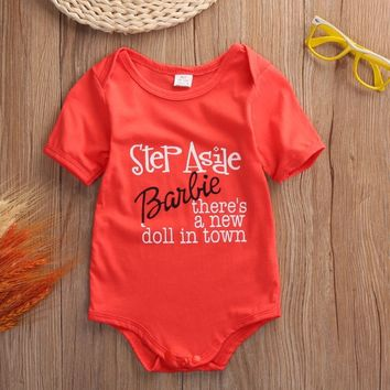 Step Aside Barbie Baby Girl Onesuit
