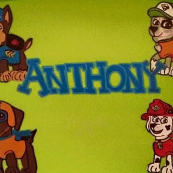 Paw Patrol Personalized Lap Trays, Custom Lap Desks, Any Theme, Any Names