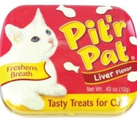 Pit'R Pat Cat Treat Liver 12 Pack