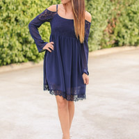 Navy Bliss Dress