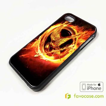 THE HUNGER GAMES iPhone 4/4S 5/5S/SE 5C 6/6S 7 8 Plus X Case Cover