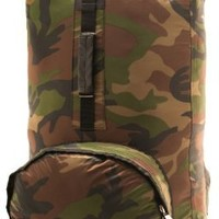 Aqua-Quest `The Himal' Waterproof Ultra Light Backpack Dry Bag - 20L / 1200 cu. in. Army Camouflage `Camo' Model